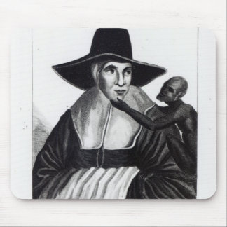 Mother Shipton, engraved by John Scott, 1804 Mouse Pad