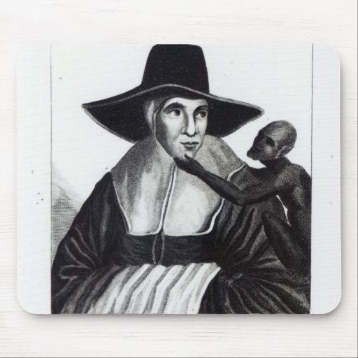 Mother Shipton, engraved by John Scott, 1804 Mouse Pads