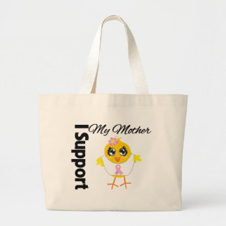 Mother Support Breast Cancer Canvas Bag