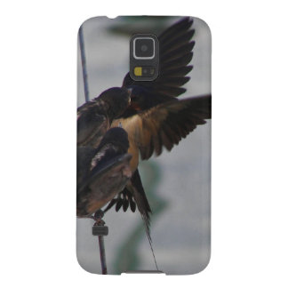 Mother swallow galaxy s5 cover