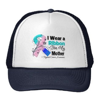 Mother - Thyroid Cancer Ribbon Hat