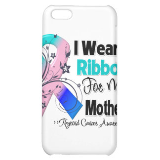 Mother - Thyroid Cancer Ribbon iPhone 5C Cases