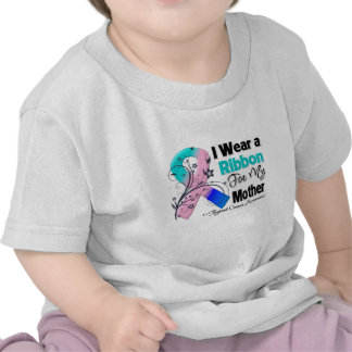 Mother - Thyroid Cancer Ribbon T-shirts