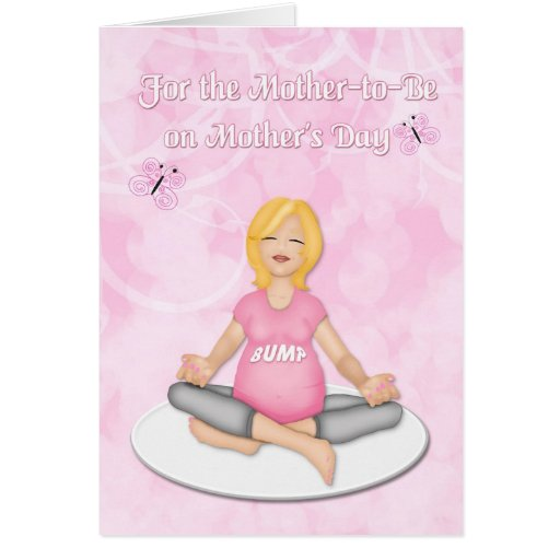 Mother-to-Be Mother's Day Greeting Card