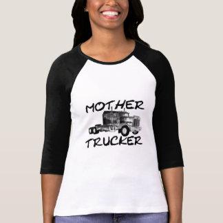 MOTHER TRUCKER - BLACK & WHITE T-Shirt
