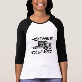 MOTHER TRUCKER - BLACK & WHITE TSHIRTS