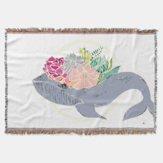 Mother Whale Throw