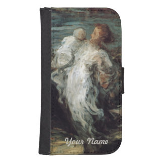 """Mother with Child"" custom wallet cases"