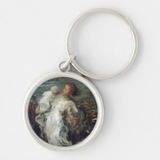 """Mother with Child"" key chains"