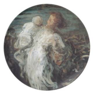 """Mother with Child"" plate"