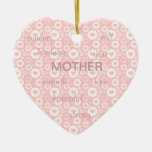 Mother Words Ornament