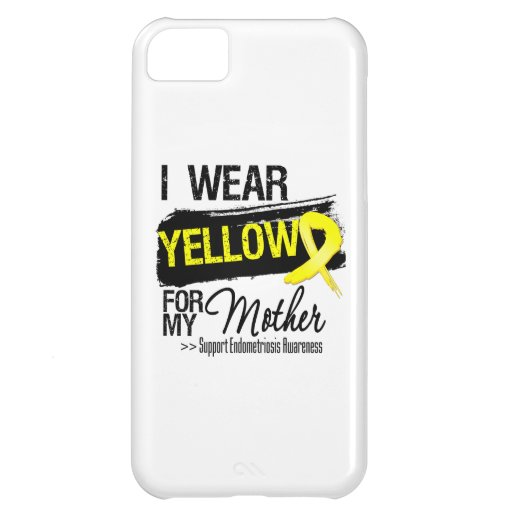 Mother Yellow Ribbon Endometriosis Cover For iPhone 5C