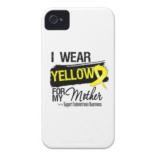 Mother Yellow Ribbon Endometriosis iPhone 4 Cases