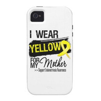 Mother Yellow Ribbon Endometriosis iPhone 4 Case