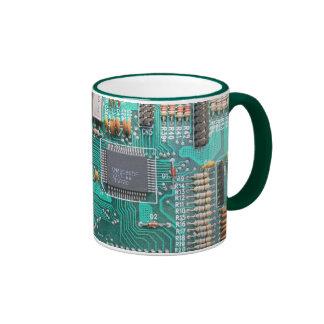 Motherboard circuit board photo computer nerd mugs