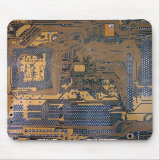 Motherboard Mouse Mat