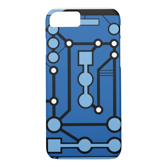 Motherbox Blue iPhone 8/7 Case