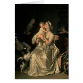 Motherhood, 1805 card