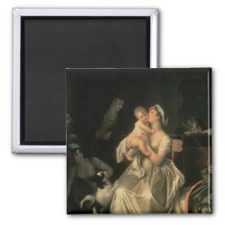 Motherhood, 1805 square magnet