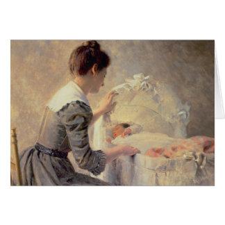 Motherhood, 1898 card