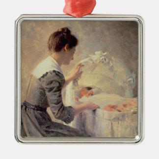 Motherhood, 1898 christmas ornament