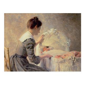 Motherhood, 1898 postcard