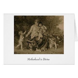 Motherhood is Divine Card