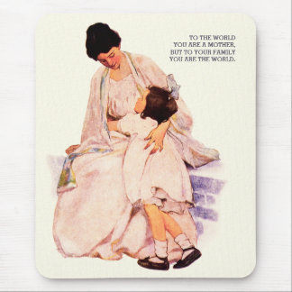 Motherhood. Mother's Day Gift Mousepads