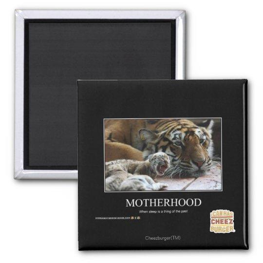 Motherhood Square Magnet