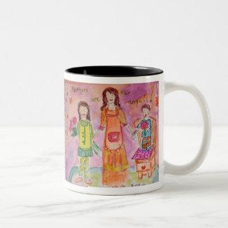 Motherhood Two-Tone Coffee Mug