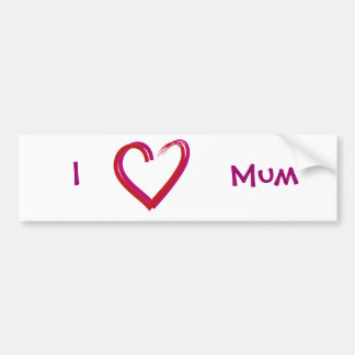 Mothering Day Bumper Sticker