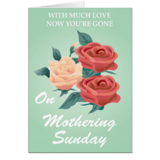 Mothering Sunday Greeting Card