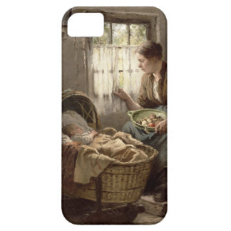 Motherly Affection (oil on canvas) Case For The iPhone 5