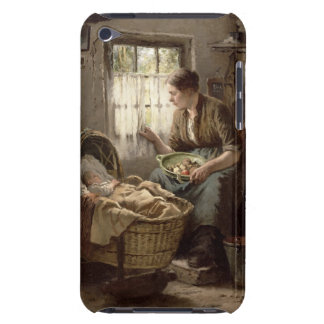 Motherly Affection (oil on canvas) iPod Touch Case-Mate Case