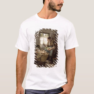 Motherly Affection (oil on canvas) T-Shirt