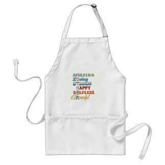 Mothers Apron complete with words of wonder