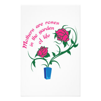 MOTHERS ARE ROSES STATIONERY