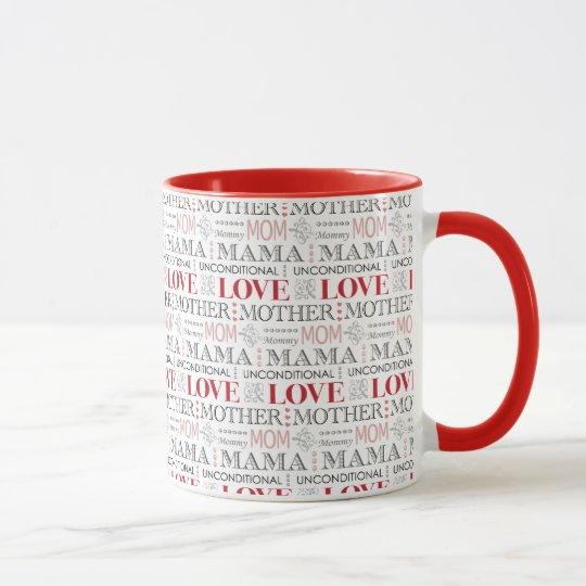 Mother's Birthday or Mother's Day Elegant Pattern Mug