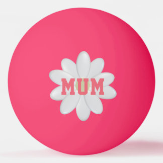 Mother's Daisy Glow in the Dark Ping Pong Ball