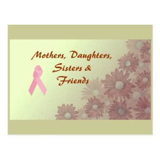 Mothers, Daughters, Sisters, Friends Postcard