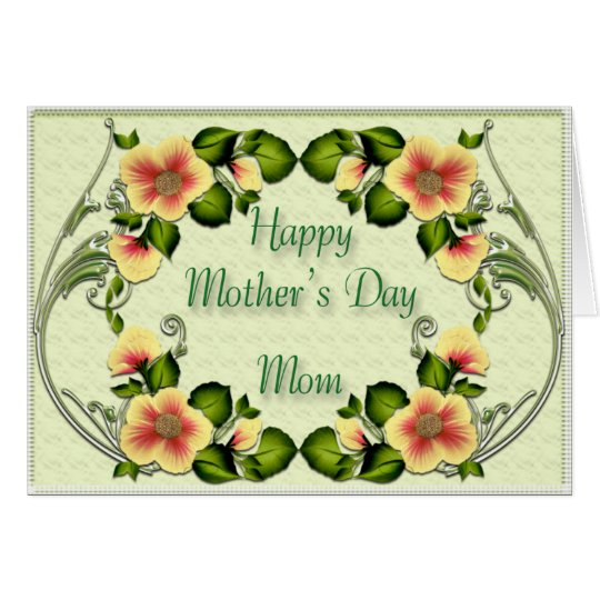 Mother's day5 card