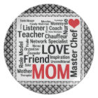 Mother's Day Amazing Multi-talented Super Mum Plate