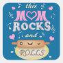 Mother's Day Baking & Rocking Mum Stickers
