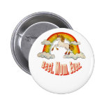 Mothers Day. Best. Mom. Ever. 6 Cm Round Badge