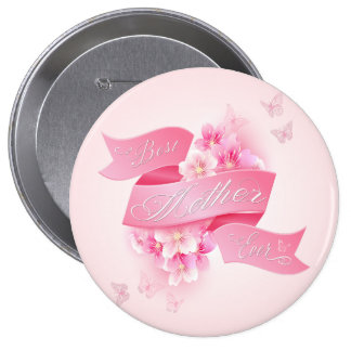 "Mother's Day ""Best Mother Ever"" All Options 10 Cm Round Badge"