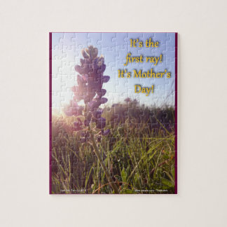 Mother's Day Blue Bonnets Puzzles