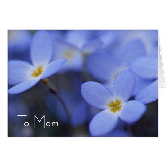 Mother's Day - Bluettes Greeting Card