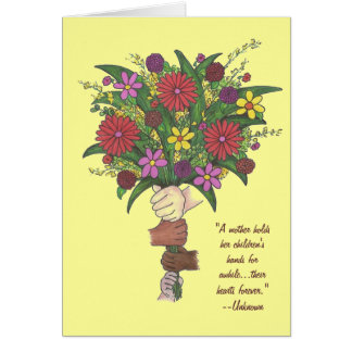 Mother's Day Bouquet Note Card