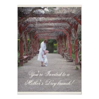 Mother's Day brunch 13 Cm X 18 Cm Invitation Card