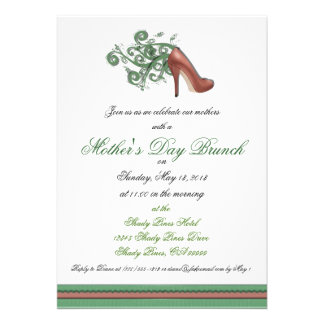 Mother's Day Brunch Custom Invitations